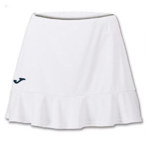 JOMA Tennis Skirt Torneo II Women's Fit (White) - Childrens / Juniors